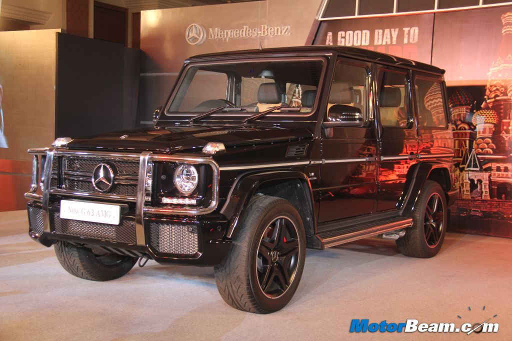Mercedes Benz Launches G63 Amg In India