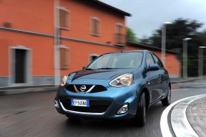 2013 Nissan Micra Grille