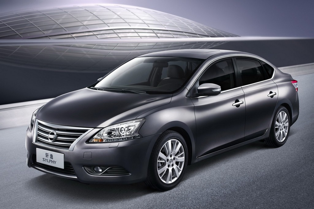 2013 Nissan Sylphy Sentra front