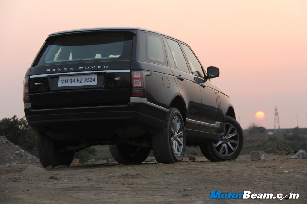 2013 Range Rover Test Drive