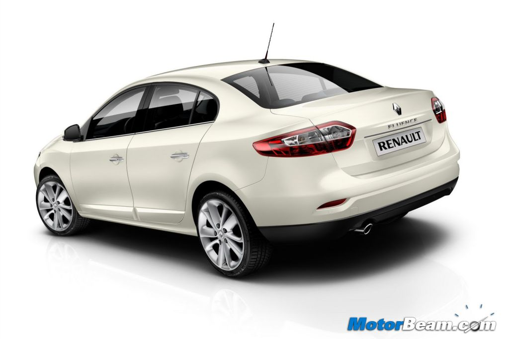2013 Renault Fluence India