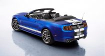 2013 Shelby GT-500 convertible rear