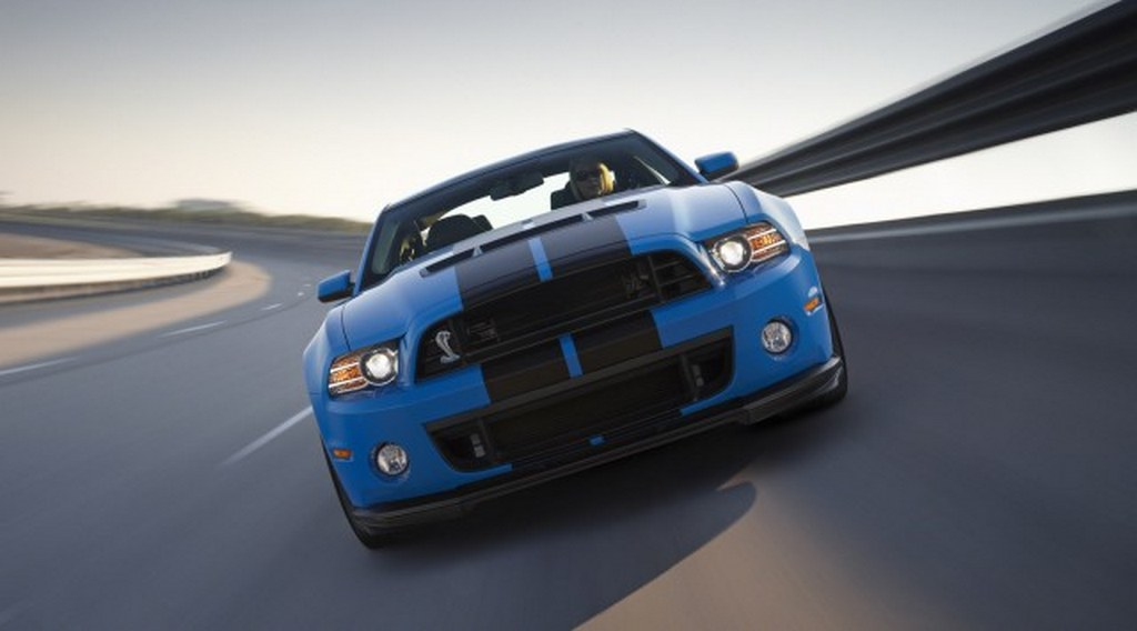 2013 Shelby GT-500 front