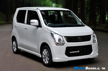 Suzuki Wagon R FZ Hybrid Imported To India For R&D