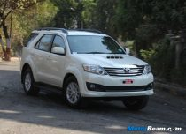 2013 Toyota Fortuner Road Test