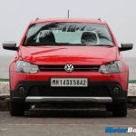 2013 Volkswagen Cross Polo Review Front