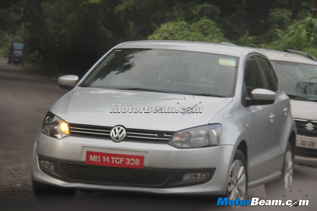 2013 Volkswagen Polo Spied