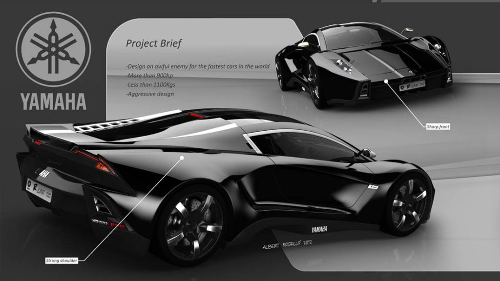 Yamaha R-Car Design Study Is What A Supercar Should Be!