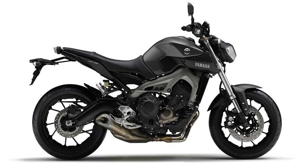 2013 Yamaha MT-09 Matt Grey