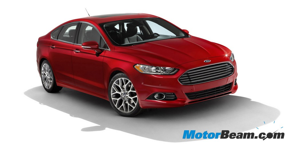2013 Ford Fusion exterior red