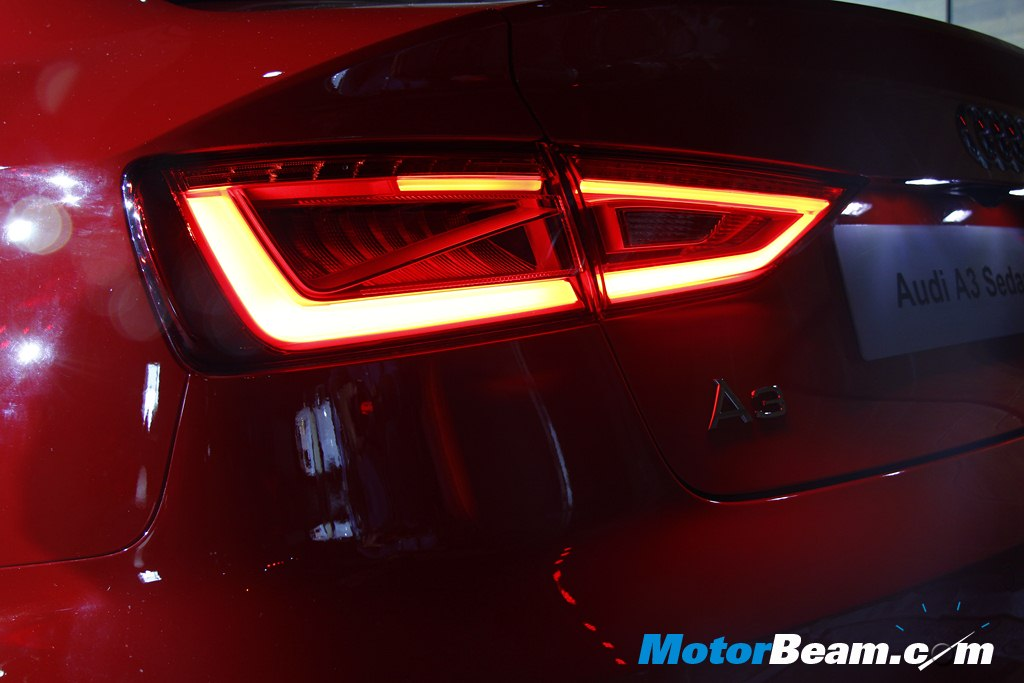 2014 Audi A3 Launch Tail Lights