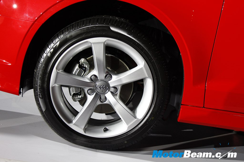 2014 Audi A3 Launch Tyres