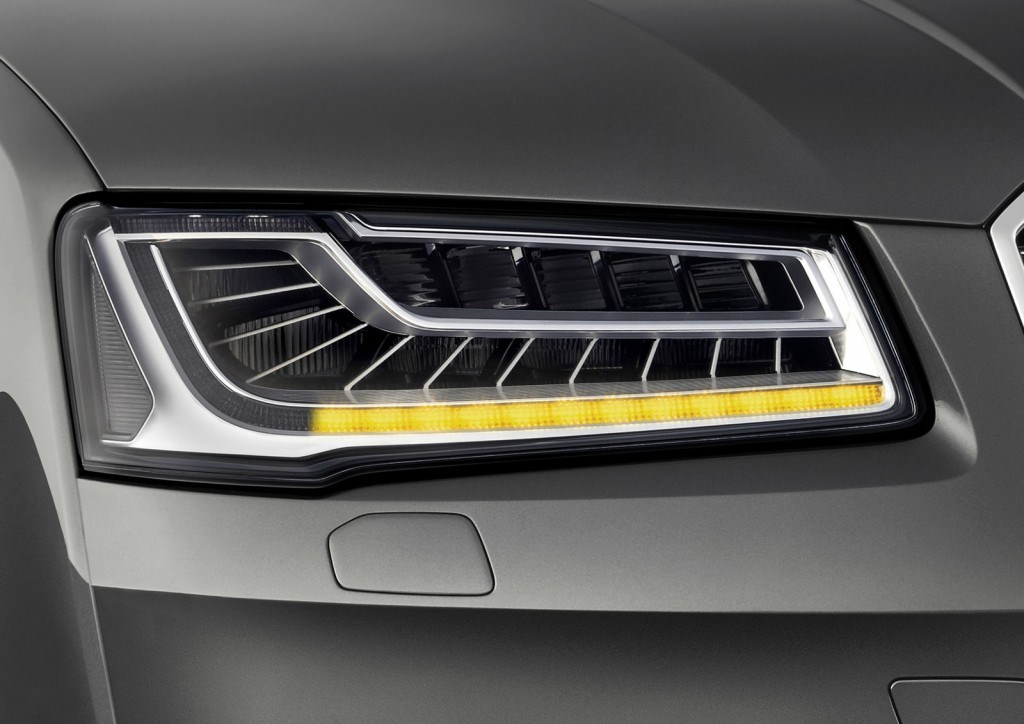 2014 Audi A8 Facelift Matrix Headlights