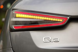 2014 Audi Q3 Dynamic Clear-Lens LED Tail Light