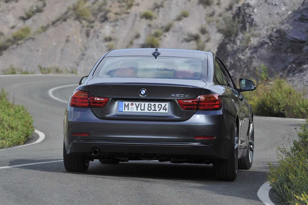2014 BMW 4-Series Coupe 420d