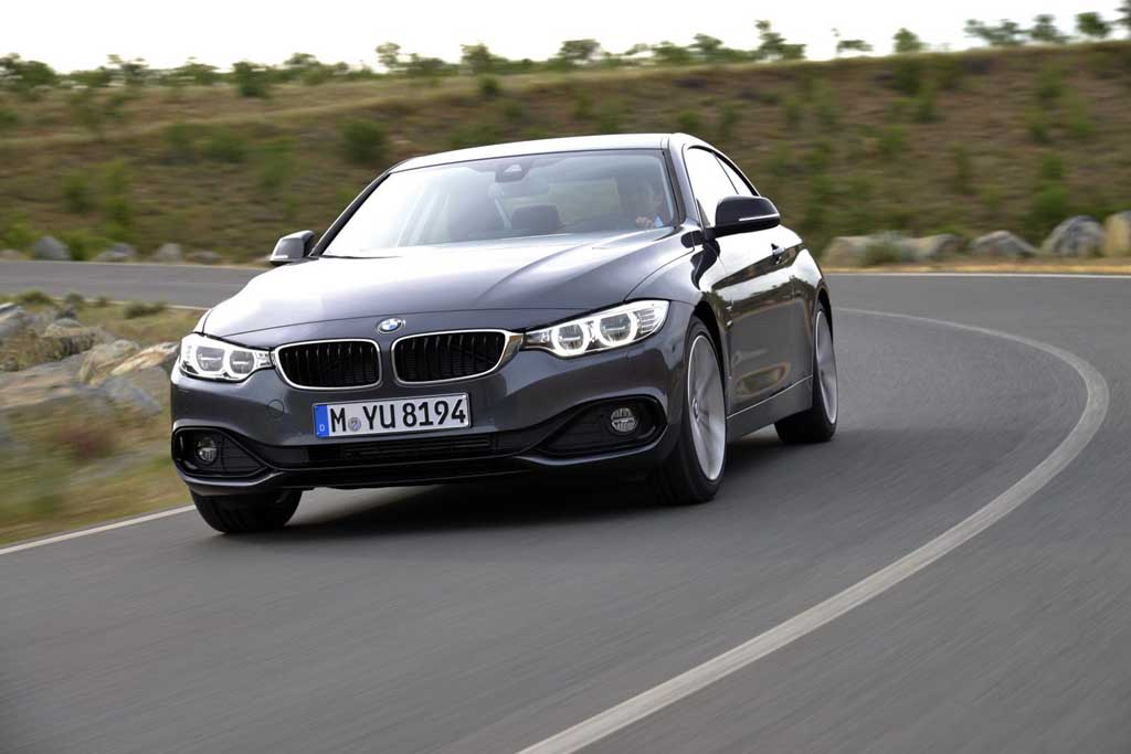 2014 BMW 4-Series Coupe Body Lines