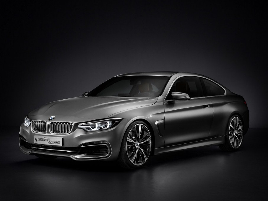 2014 BMW 4-Series Coupe Front Overlook
