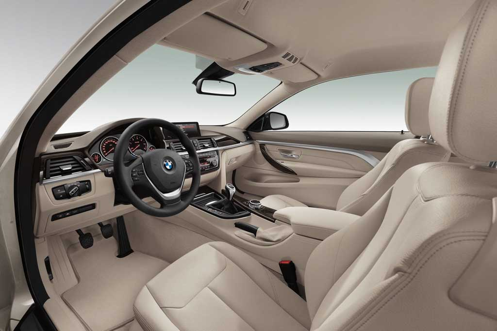2014 BMW 4 Series Coupe Front Seats