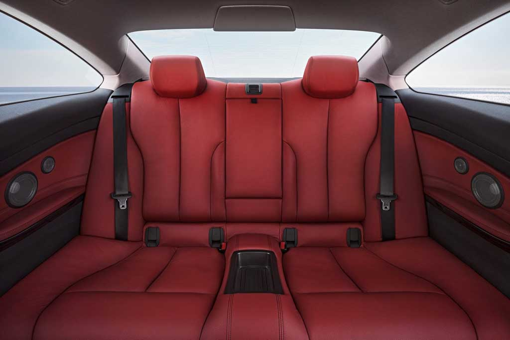 2014 BMW 4-Series Coupe Rear Seats