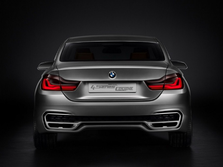 2014 BMW 4-Series Coupe Rear