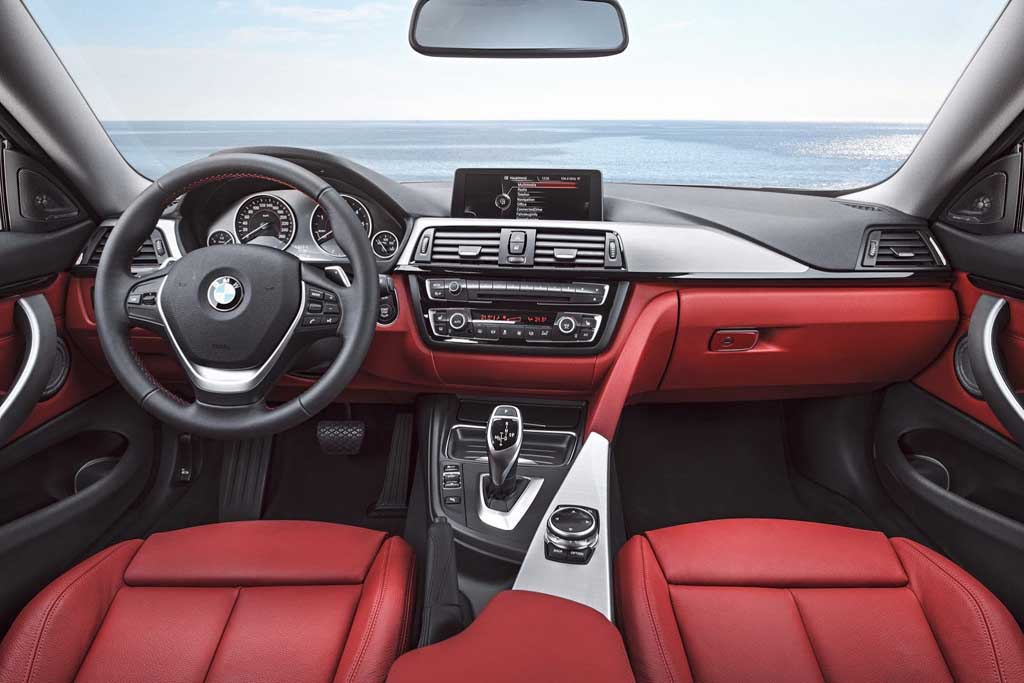 2014 BMW 4-Series Coupe Red