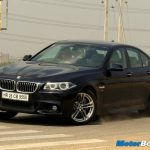 2014 BMW 5-Series User Experience