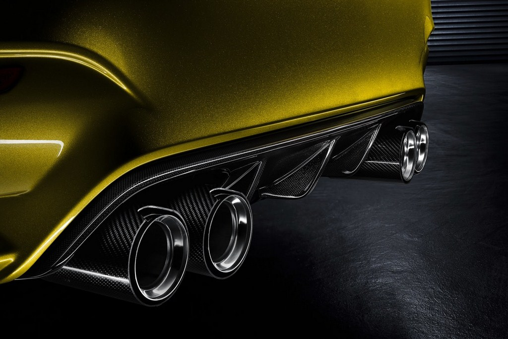 2014 BMW M4 Coupe Concept Exhaust