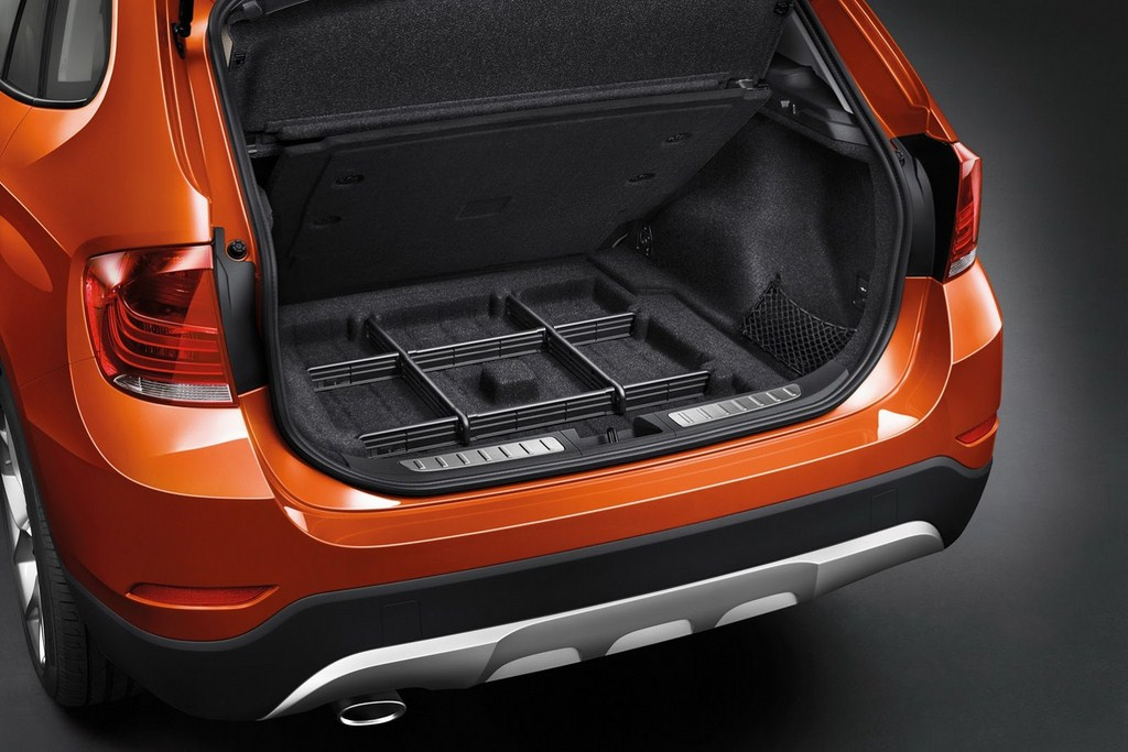 2014 BMW X1 Boot