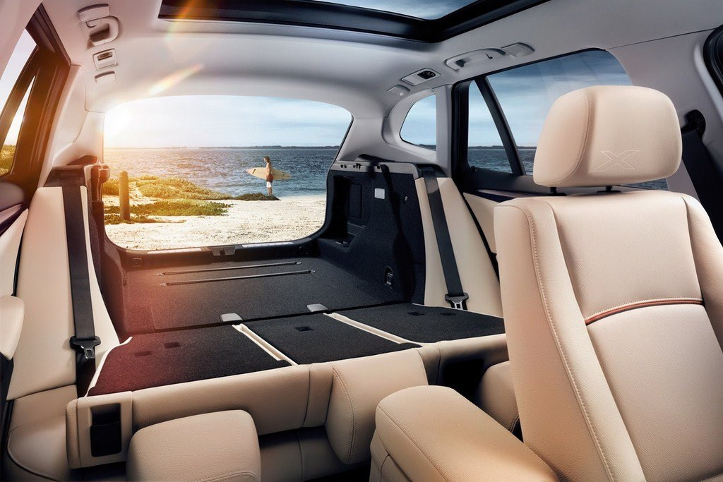 2014 BMW X1 Rear Seats