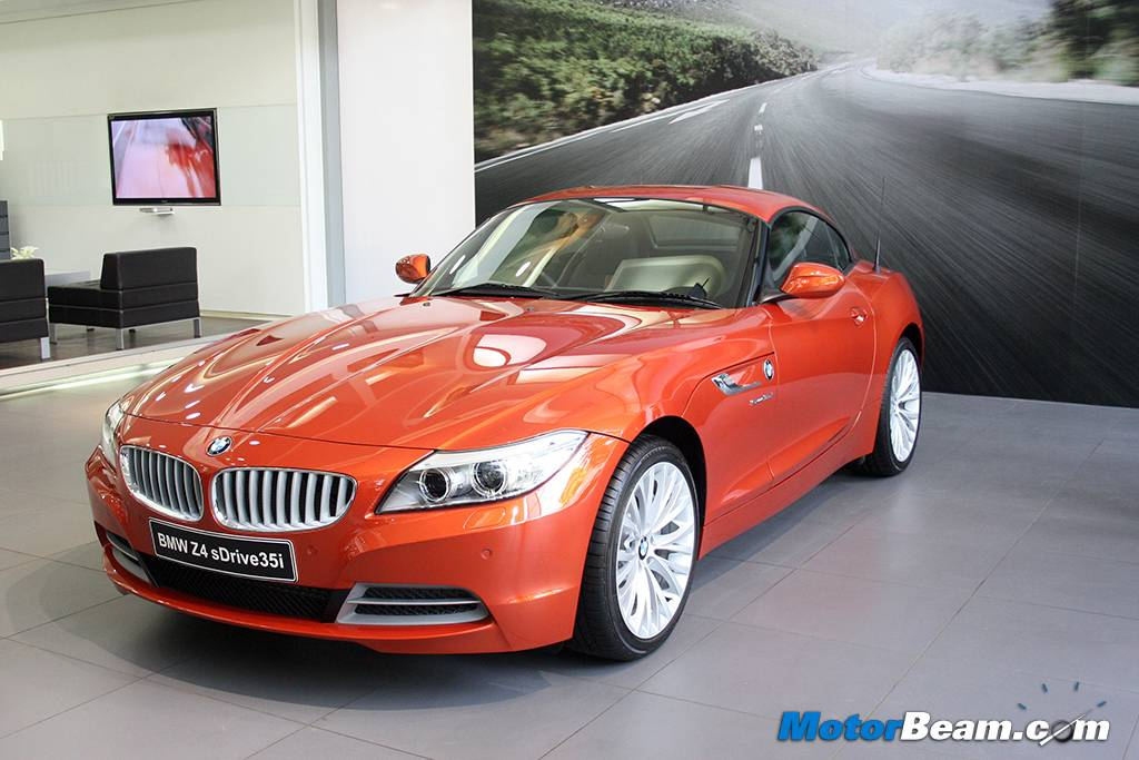 BMW Z Facelift Launched In India - 2014 bmw z4 price