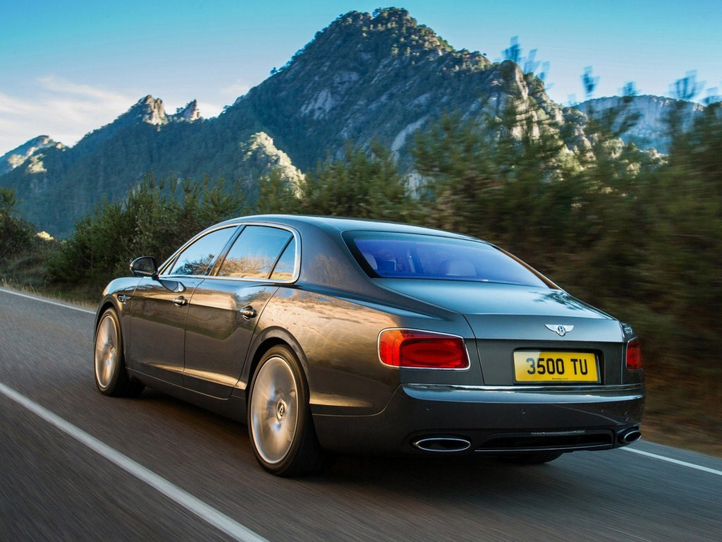 2014 Bentley Continental Flying Spur Rear