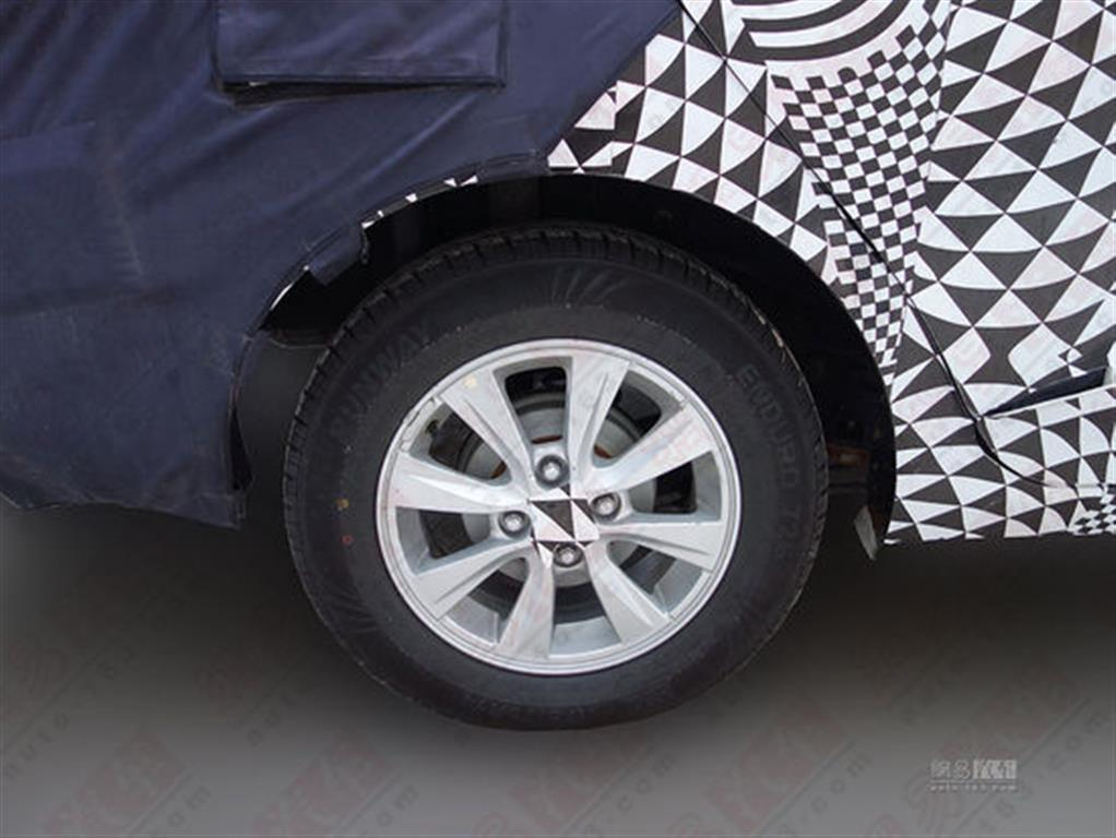 2014 Chevrolet Sail Alloy Wheels