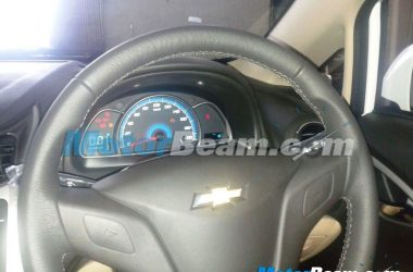 2014 Chevrolet Sail Interior Update Spied Steering Wheel