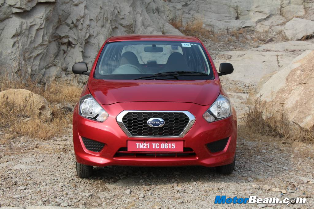 2014 Datsun GO Review Front