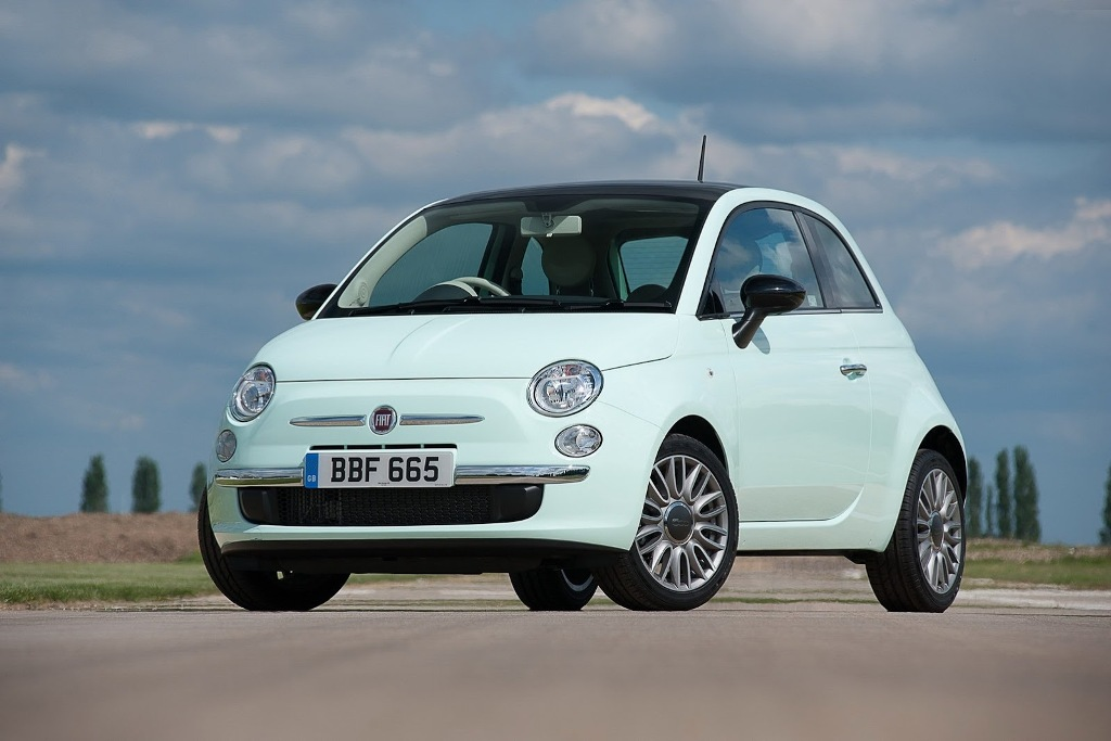 2014 Fiat 500 Front