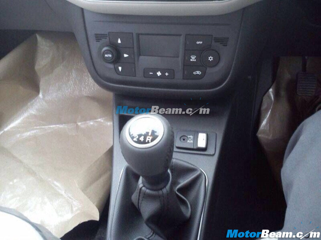 Fiat To Launch Punto Evo In August 2014 India Gear Knob Spied