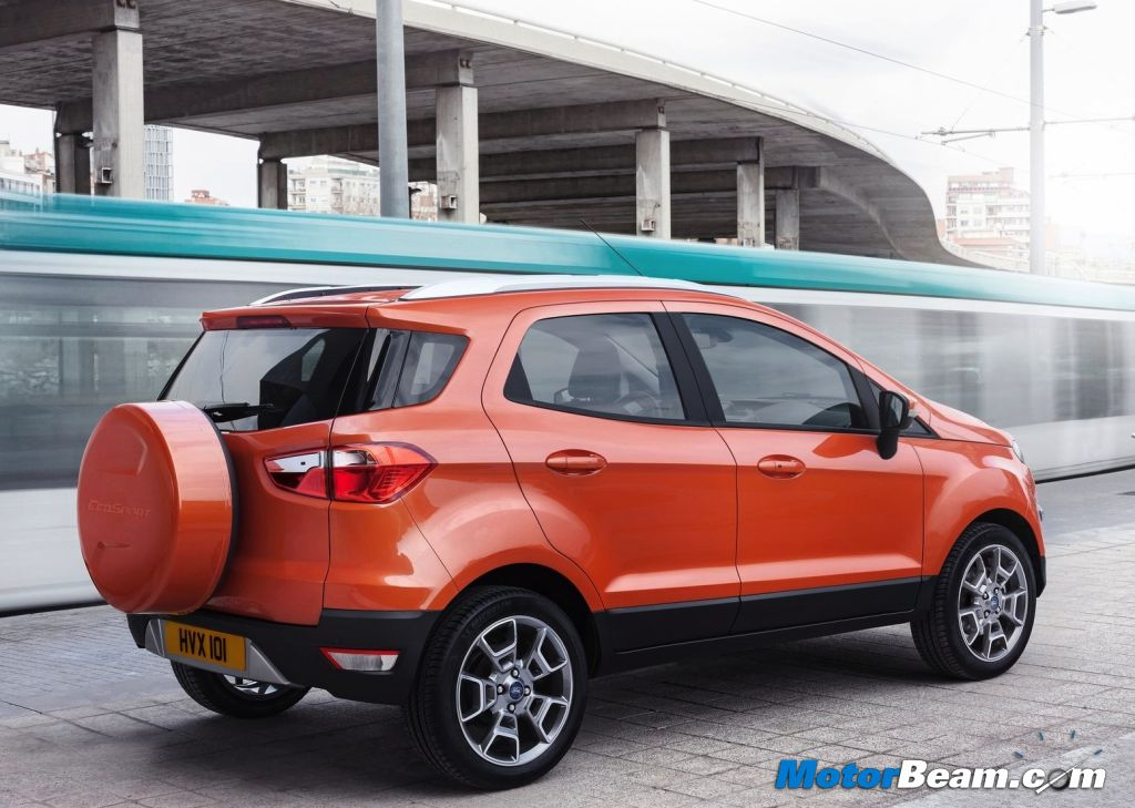 2014 Ford EcoSport Rear & EcoSport To Become Fordu0027s Next Export Success Story markmcfarlin.com