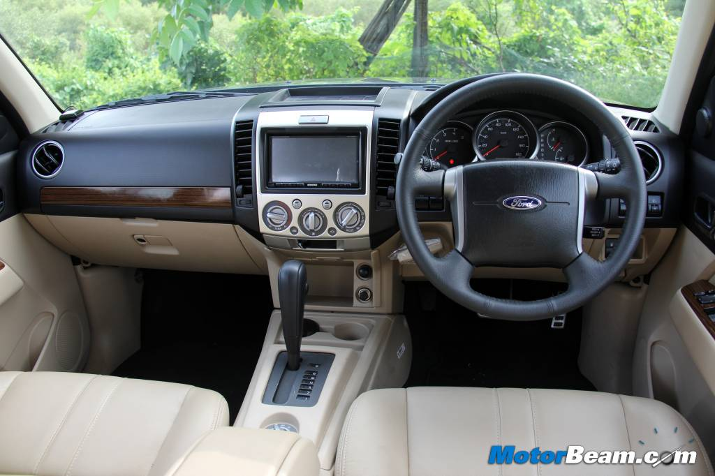 2014 Ford Endeavour Interior Review