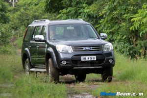 2014 Ford Endeavour Off-Road