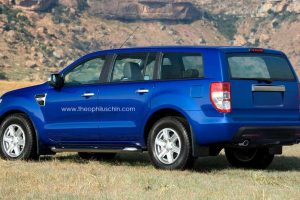 2014 Ford Endeavour rear