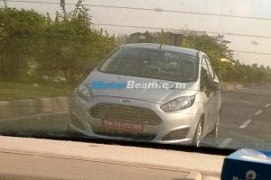 2014 Ford Fiesta Facelift Front