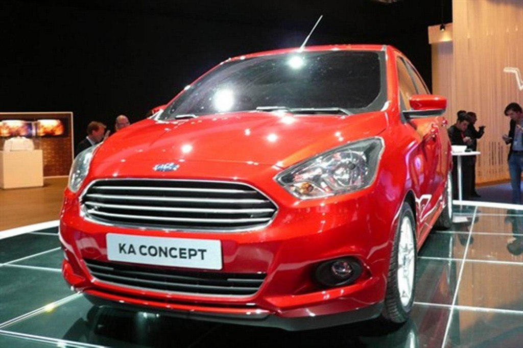 2014 Ford Ka Concept Front