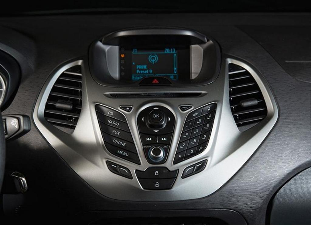 2014 Ford Ka Launch Brazil Centre Console