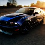 2014 Ford Mustang Burnout