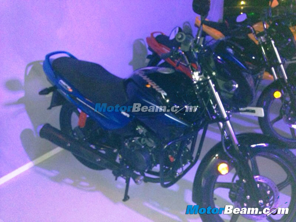 2014 Hero Glamour New Colour