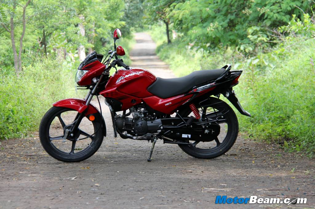 2014 Hero Glamour Review Test Ride
