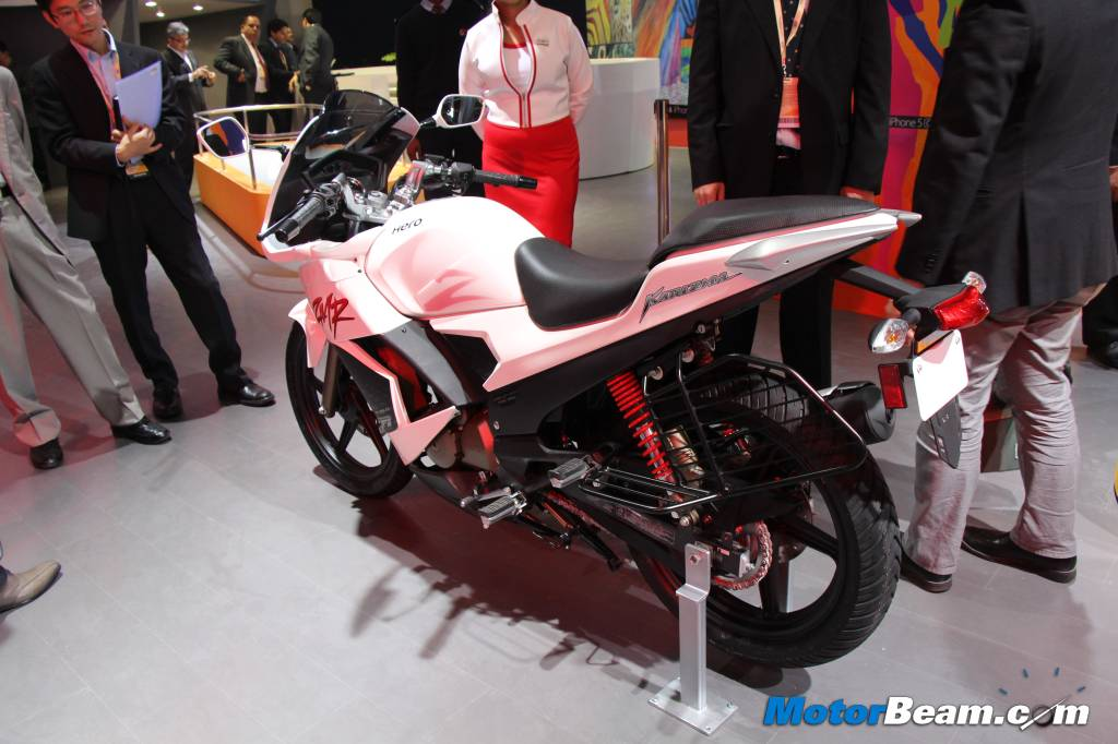 2014 Hero Karizma ZMR Rear