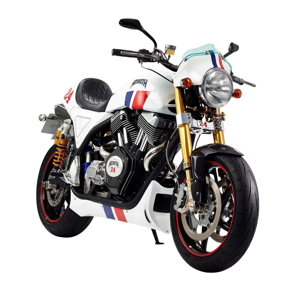 2014 Hesketh 24 Front