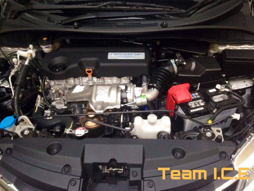 2014 Honda City Engine Bay