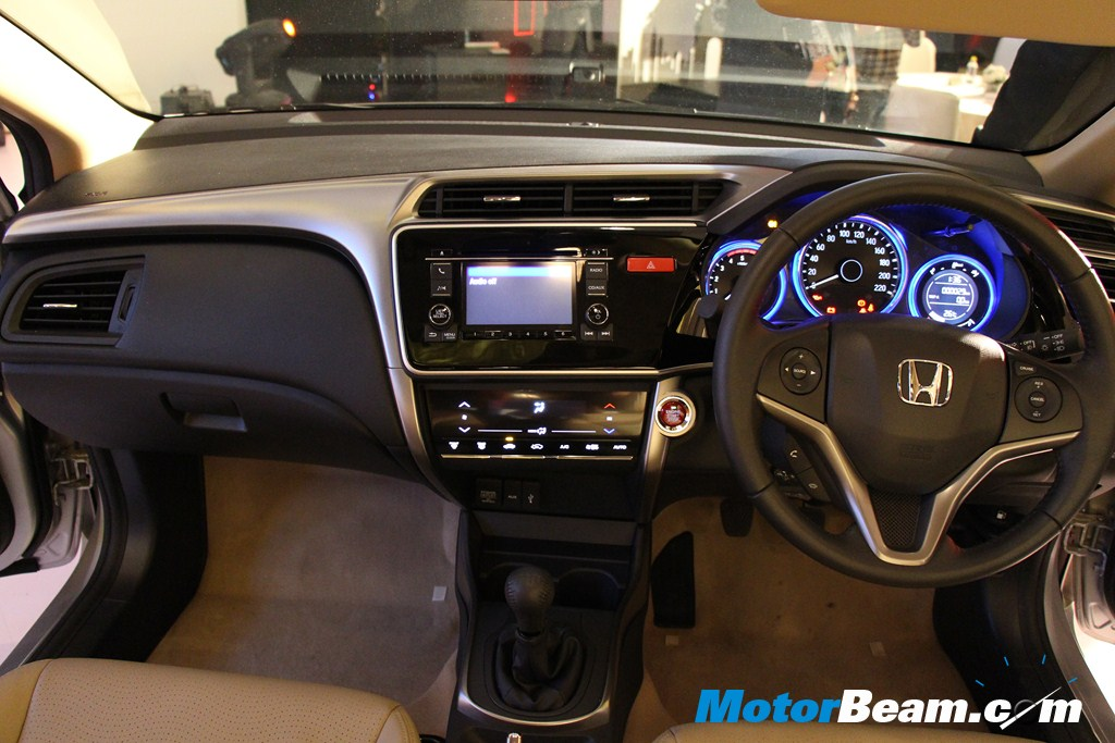 2014 Honda City Interiors